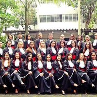 Photo taken at Universidade Moacyr Sreder Bastos (UniMsb) by Melissa T. on 4/29/2016