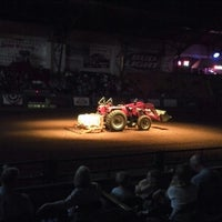 Photo taken at Stockyards Arena & Stables by Juan B. on 8/18/2013