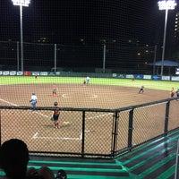 Photo taken at Rainbow Wahine Softball Stadium by Valerie R. on 11/5/2016