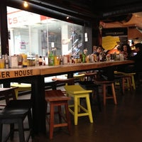 Photo taken at Burger House by Hande M. on 10/25/2012