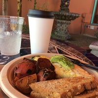 Photo taken at Nature's Health Food & Cafe by Melinda A. on 4/11/2014