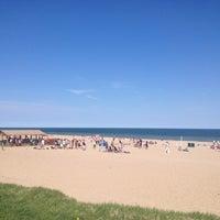 Photo taken at Bradford Beach by Jonathan C. on 5/16/2013