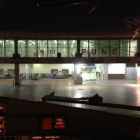 Photo taken at Pune International Airport (PNQ) by Vikram T. on 5/11/2013