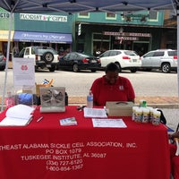 Photo taken at Downtown Tuskegee by RollTide C. on 6/29/2013
