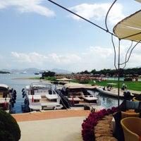 Photo taken at Hotel Cala di Volpe, Costa Smeralda by Le😍p☀🏄💀 S. on 8/3/2014