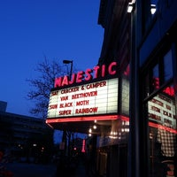 Photo taken at Majestic Theatre by Benjamin P. on 5/12/2013