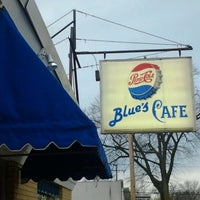 Photo taken at Blue's cafe by Amy C. on 12/4/2012