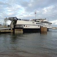 Photo taken at Vineyard Haven Harbor by Adam K. on 11/5/2012