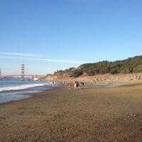 Photo taken at Baker Beach by Bartlomiej K. on 10/3/2012