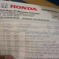 Photo taken at Honda Mugen - Pasar Minggu by Joe D. on 5/15/2015