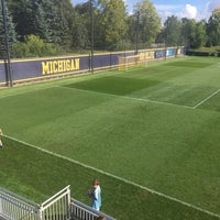 Photo taken at U-M Soccer Complex by Colin T. on 10/2/2016
