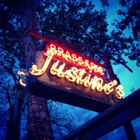 Photo taken at Justine's Brasserie by Paulie D. on 4/14/2013