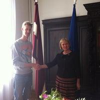 Photo taken at Latvijas Republikas Kultūras ministrija by Timurs T. on 3/19/2013