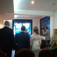 Photo taken at Opština Savski venac by Iveshna on 3/29/2014