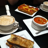 Photo taken at Labriola Bakery & Cafe by Michelle on 1/11/2013