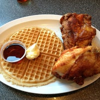Photo taken at Home Of Chicken and Waffles by David S. on 1/20/2013