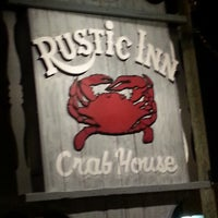 Photo taken at Rustic Inn Seafood Crabhouse by Keybeth R. on 3/25/2013