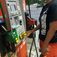 Photo taken at Hy-Vee Gas by Scott P. on 5/26/2016