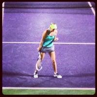 Photo taken at Crandon Tennis Center by David M. on 3/26/2013