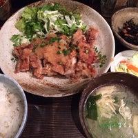 Photo taken at 琥珀 by riceballmeshi on 12/20/2013