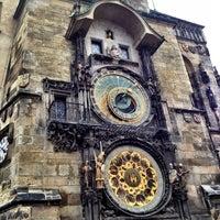 Photo taken at Prague Astronomical Clock by Nurzhan . on 10/1/2012