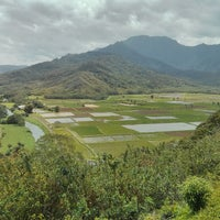 Photo taken at Hanalei Valley Lookout by Matthew Y. on 3/15/2013