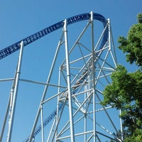 Photo taken at Millennium Force by Kenny P. on 7/25/2013