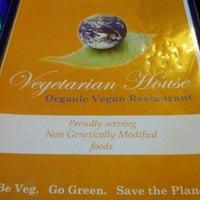 Photo taken at Vegetarian House by Em K. on 10/27/2012