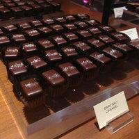 Photo taken at Fran's Chocolates by H. C. on 2/12/2013