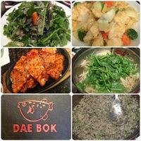 Photo taken at Dae Bok Restaurant by Lindsay on 4/1/2013
