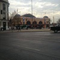 Photo taken at Metro Puente Cal y Canto by Alejandr on 7/10/2013