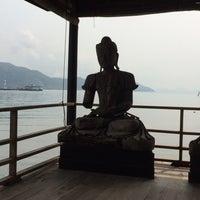 Photo taken at Nirvana Resort Koh Chang by Erik V. on 2/23/2014