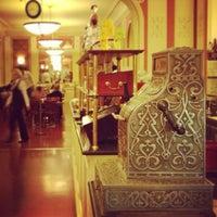 Photo taken at Café Louvre by Diana V. on 6/23/2013