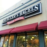 Photo taken at Bruegger's Bagels by Laurie J. W. on 9/21/2012