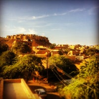 Photo taken at Jaisalmer Fort by Craig M. on 12/19/2012