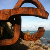 Photo taken at Peine del Viento by Fernando L. on 11/30/2012