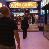 Photo taken at Super Cines 8 by Stephanie on 1/2/2013