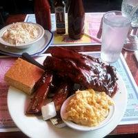 Photo taken at New York's Original BBQ Restaurant by Jannx B. on 9/26/2012