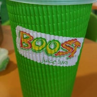 Photo taken at Boost Juice Bar by Mohd Daniel . on 3/16/2016