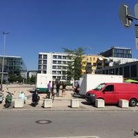 Photo taken at Rainer-Werner-Fassbinder-Platz by Ludwig P. on 8/26/2016