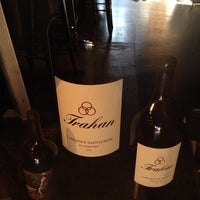 Photo taken at Trahan Winery by cristina c. on 9/2/2014