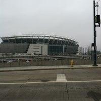 Photo taken at Paul Brown Stadium by Nikki G. on 12/9/2012