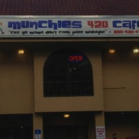 Photo taken at Munchies 420 Cafe by Sean S. on 2/23/2013