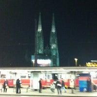 Photo taken at H Schottentor - Universität by Manuela S. on 12/28/2012