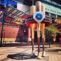 Photo taken at Chase Field by Ryan M. on 5/12/2013