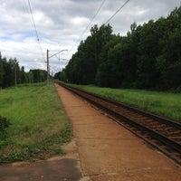 """Photo taken at LDz   Dzelzceļa stacija """"Milzkalne"""" by Agnese Z. on 7/21/2013"""