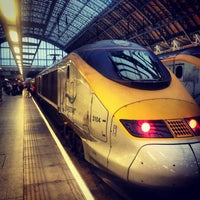 Photo taken at London King's Cross Railway Station (KGX) by Fabio I. on 3/6/2013
