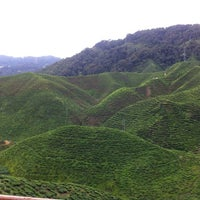 Photo taken at Cameron Bharat Tea Valley by Ahmed A. on 10/7/2012