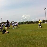 Photo taken at Buffalo Creek Soccer Fields by Scott F. on 5/11/2013