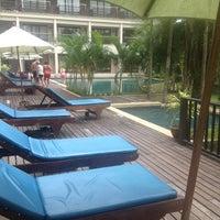 Photo taken at Khaolak Mohin Tara Hotel Phang Nga by tuneps k. on 4/6/2013